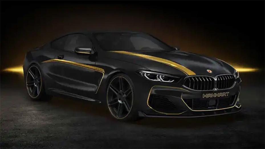 BMW Series 8, усиленный Manhart, альтернатива М8