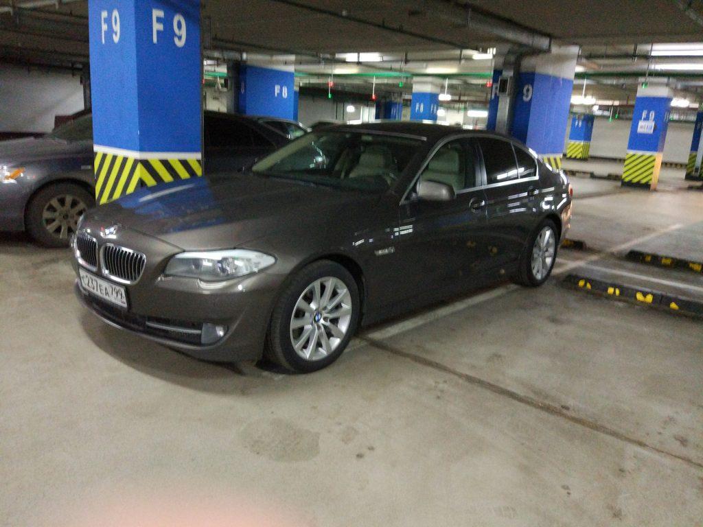 автомобиль BMW 5 series F 10