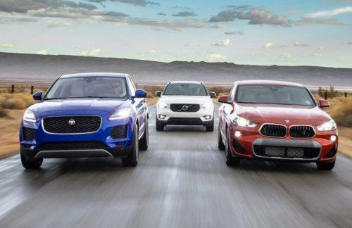 Jaguar E-Pace против BMW X2